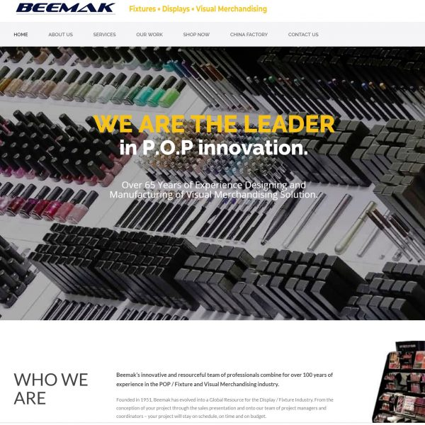 Beemak website